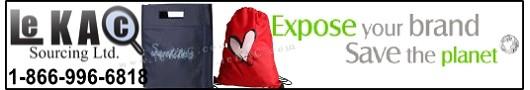 LeKAC Sourcing Ltd. - Reusable Bags Canada