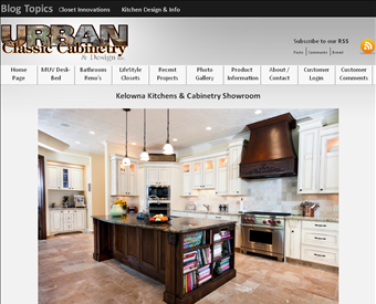 Urban classic cabinetry design kitchen cabinet company for Kitchen cabinets kelowna