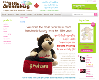 The little dreambug custom baby gifts edmonton in edmonton bc the little dreambug custom baby gifts edmonton web screenshot negle Image collections