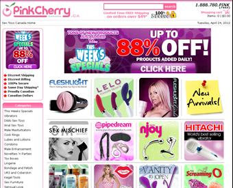 PinkCherry.ca - Sex Toys Canada